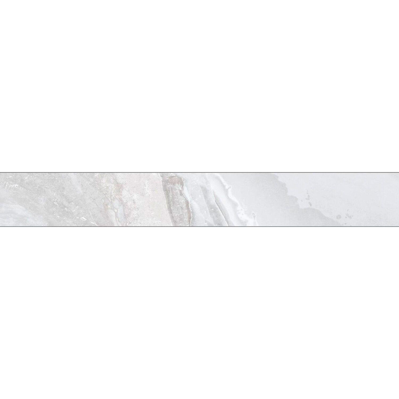 Sonstige Sockel Geo Stone White glänzend 7 cm x 60 cm