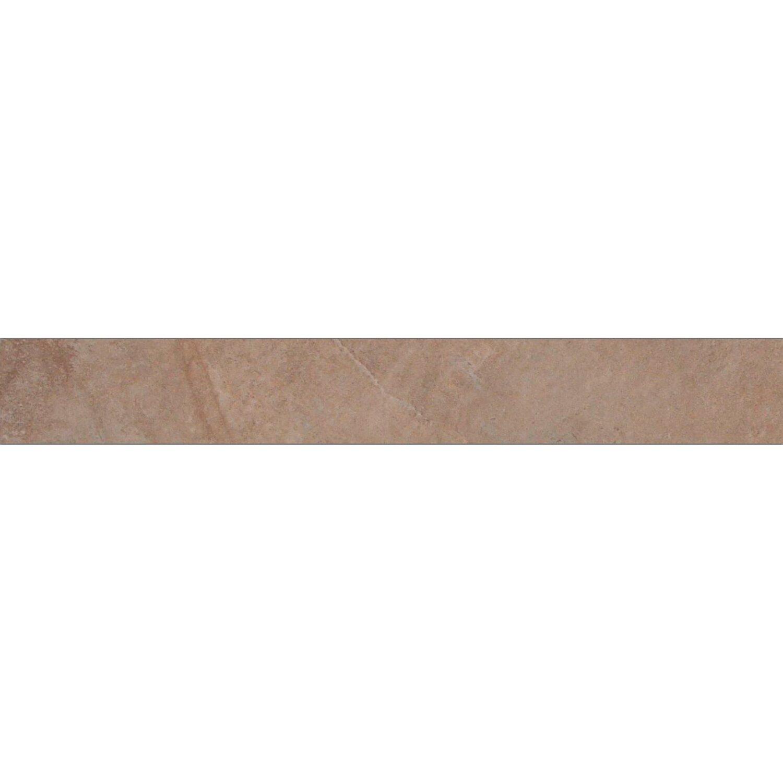 Sonstige Sockel Geo Stone Grey glänzend 7 cm x 60 cm