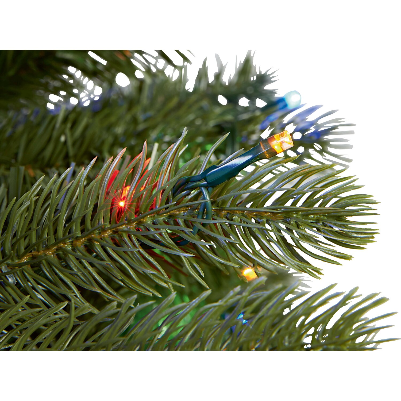 k nstlicher weihnachtsbaum 180 cm mit led beleuchtung kaufen bei obi. Black Bedroom Furniture Sets. Home Design Ideas
