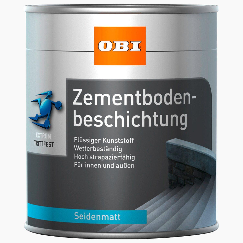 Brandneu OBI Zementbodenbeschichtung Reinweiß seidenmatt 750 ml kaufen bei OBI IW73