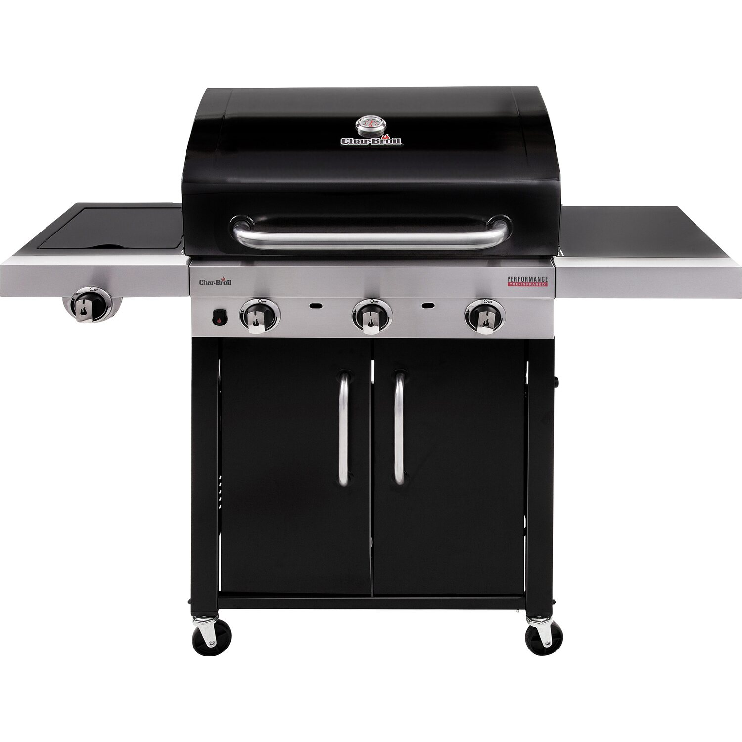 Char broil gasgrill performance 340 b mit 3 brennern tru for Outdoorkuche mit gasgrill
