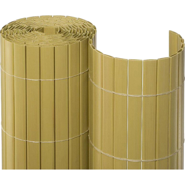 Sichtschutzmatte Pvc 120 Cm X 300 Cm Bambus Kaufen Bei Obi