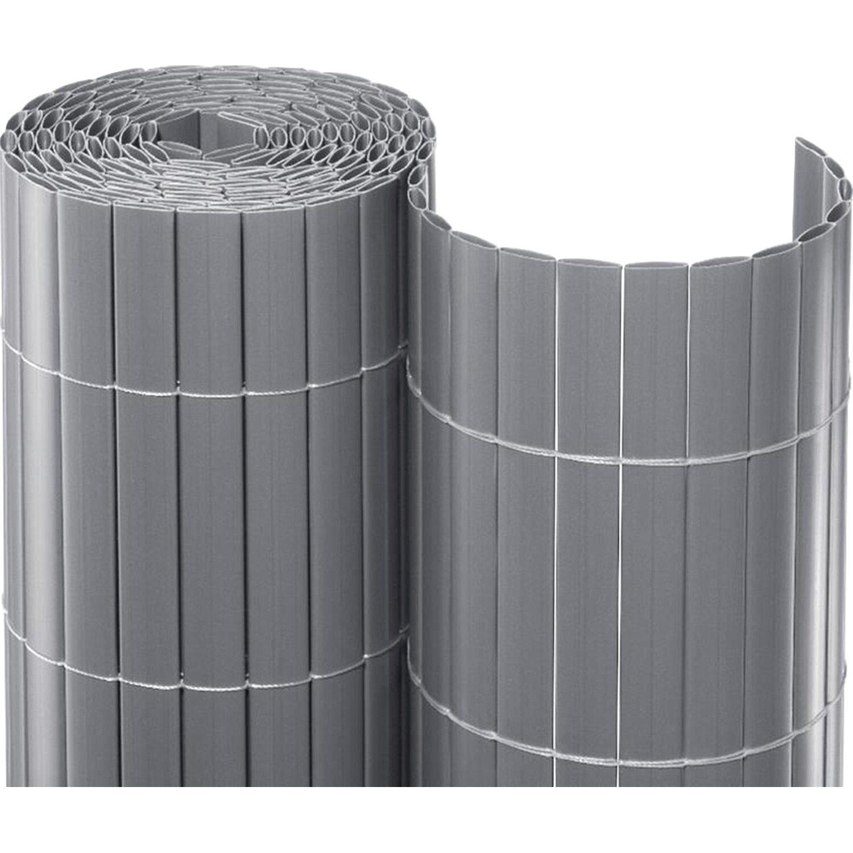 Sichtschutzmatte Pvc 120 Cm X 300 Cm Silber Kaufen Bei Obi