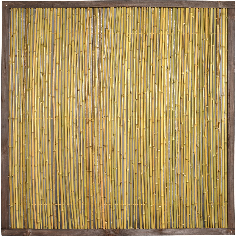 bambuszaun bangkok 180 cm x 180 cm kaufen bei obi
