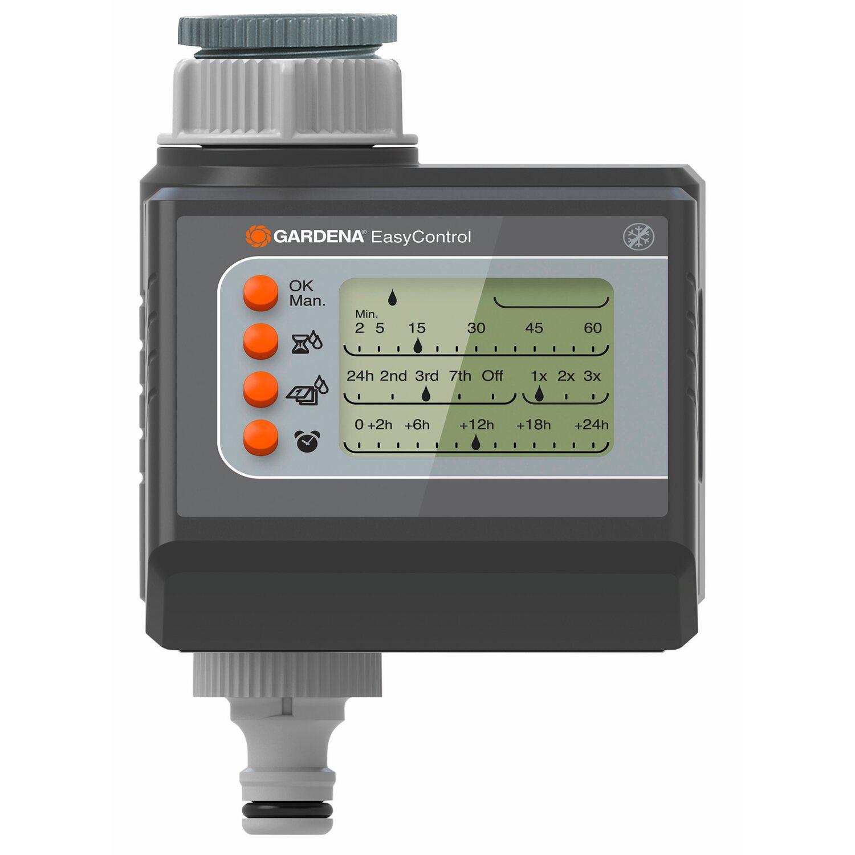 Gardena Bewässerungscomputer EasyControl zur Auswahl vorgegebener Intervalle