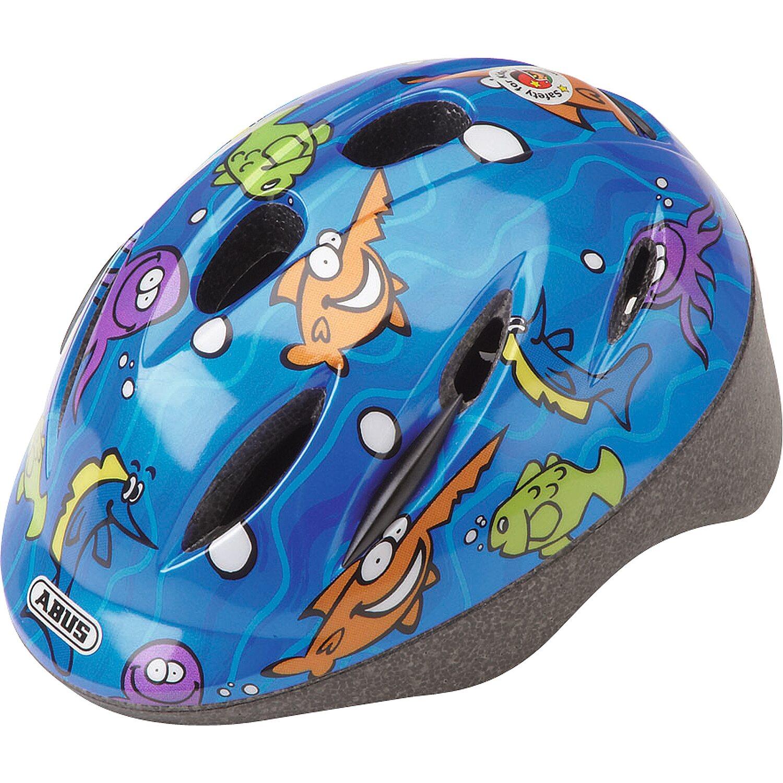 Abus Kinder-Fahrrad-Helm Smooty Ocean S 45 cm - 50 cm