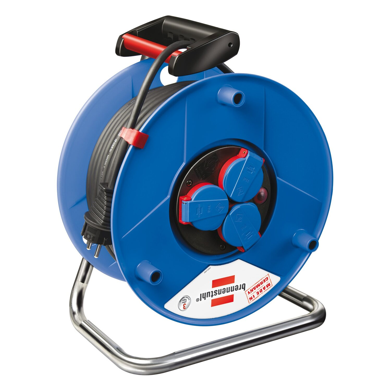Brennenstuhl Kabeltrommel Garant H07RN-F 3G1,5 Blau 25 m | Baumarkt > Elektroinstallation > Verlängerungskabel | Blau | Kunststoff | Brennenstuhl