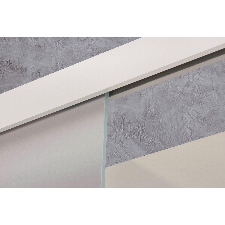 schiebet r system movento 1 fl gelig aluminium wei f holzt ren bis 94 4 cm kaufen bei obi. Black Bedroom Furniture Sets. Home Design Ideas