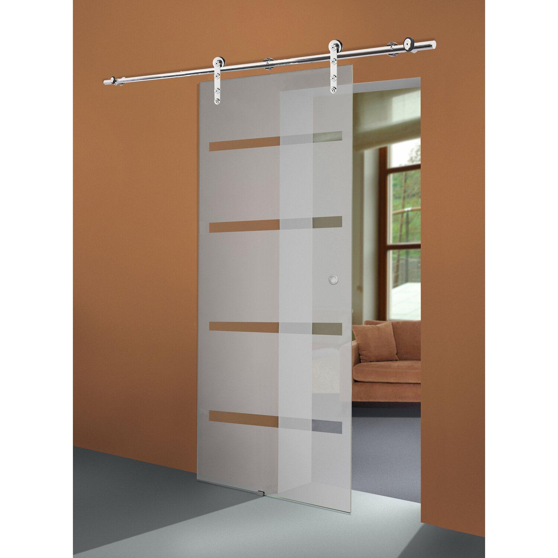 schiebet r system ares 1 fl gelig edelstahl feinschliff f r glast ren bis 72 cm kaufen bei obi. Black Bedroom Furniture Sets. Home Design Ideas