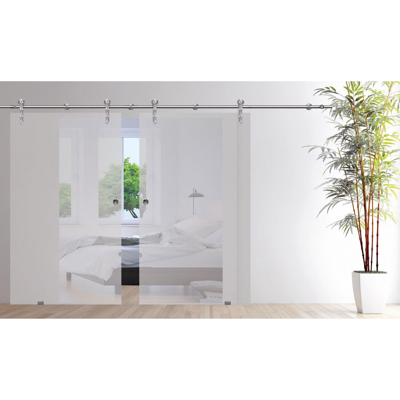 schiebet r system ares 2 fl gelig f r glast ren bis 92 cm kaufen bei obi. Black Bedroom Furniture Sets. Home Design Ideas