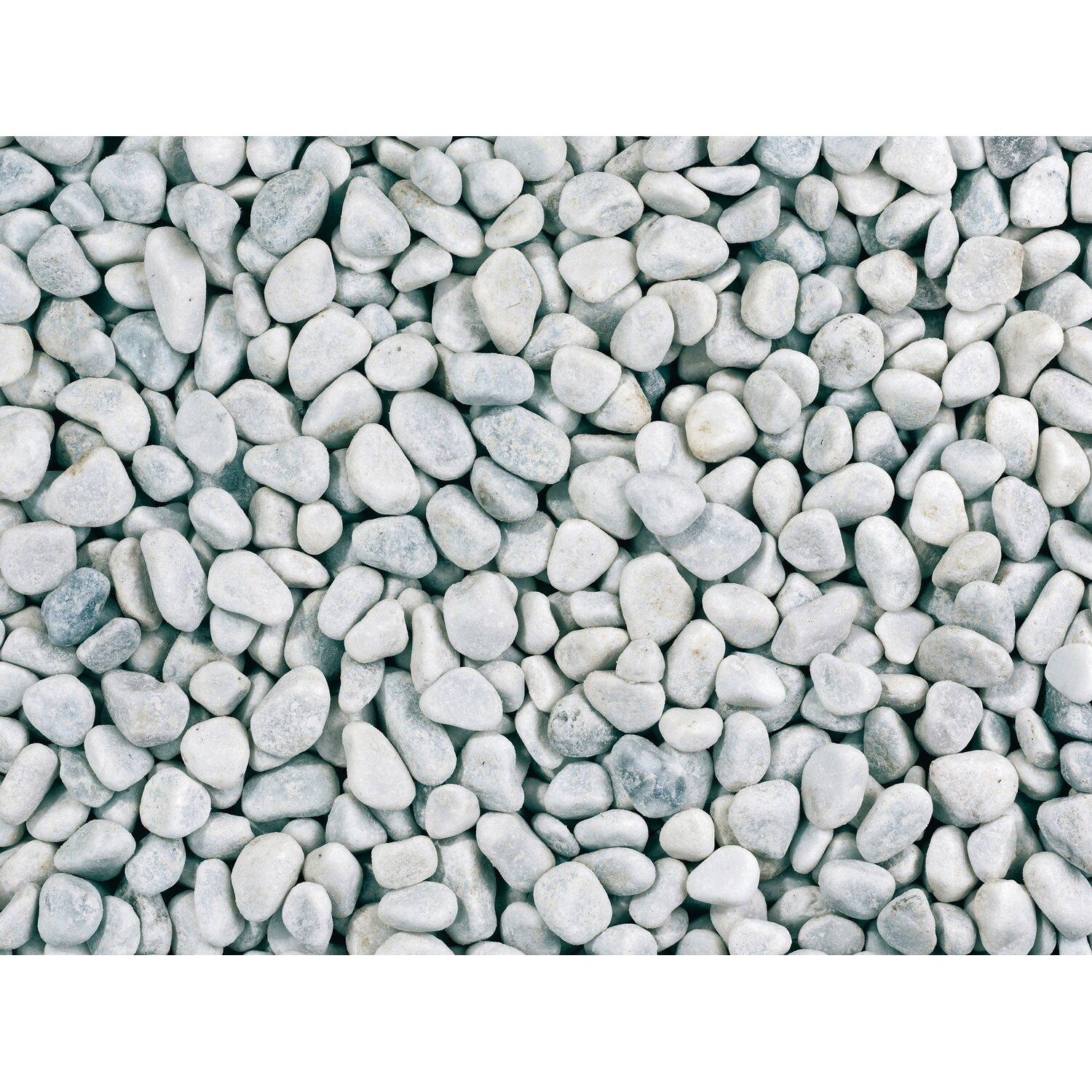 Marmor kies carrara wei 8 mm 16 mm 15 kg sack kaufen for Anthrazit kieselsteine