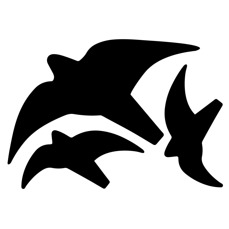 Aufkleber Vogelsortiment