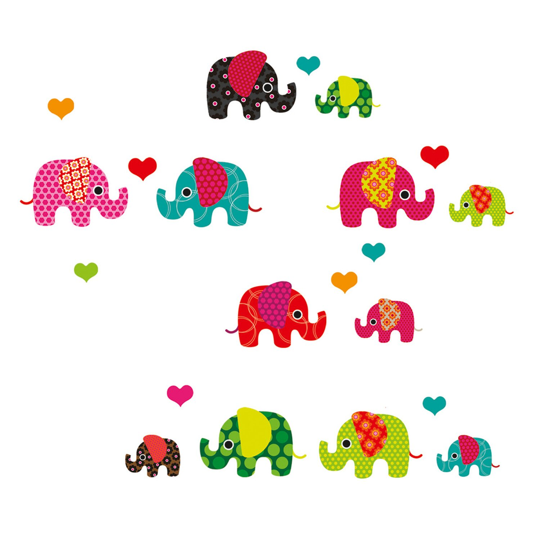 Eurographics  Fenstersticker antistatisch Lovely Elephant