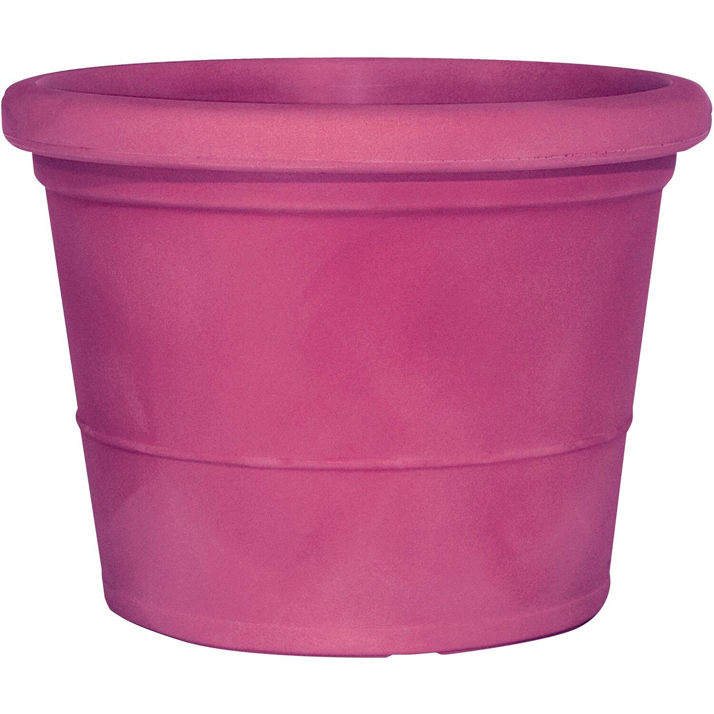 Marchioro Pflanzkübel Zara Ø 60 x 45 cm Fuchsienrot   Dekoration > Dekopflanzen > Pflanzenkübel   Pink   Kunststoff   Marchioro