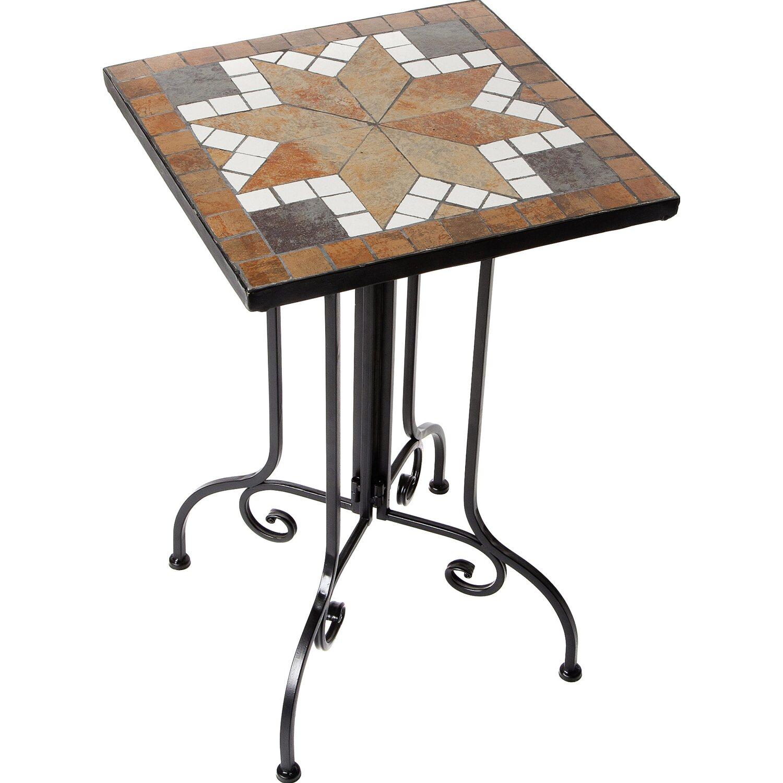 giardino gartentisch mosaik quadratisch 35 cm x 35 cm. Black Bedroom Furniture Sets. Home Design Ideas