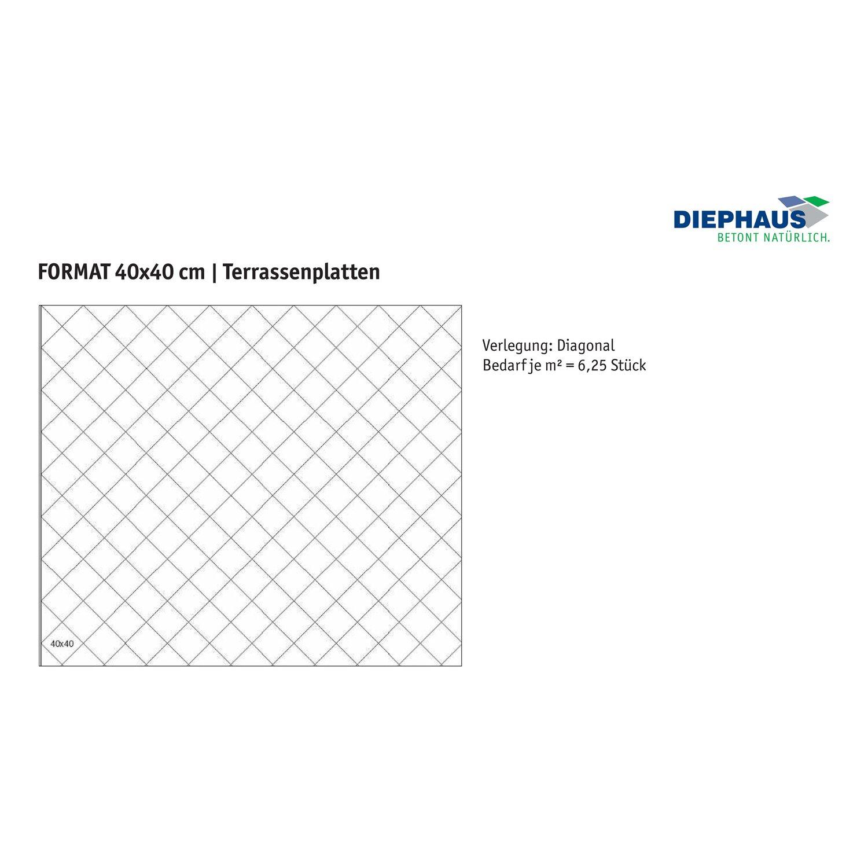 Terrassenplatte Beton Finessa SchwarzBasaltGeflammt X X Cm - Terrassenplatten 40x40 terracotta