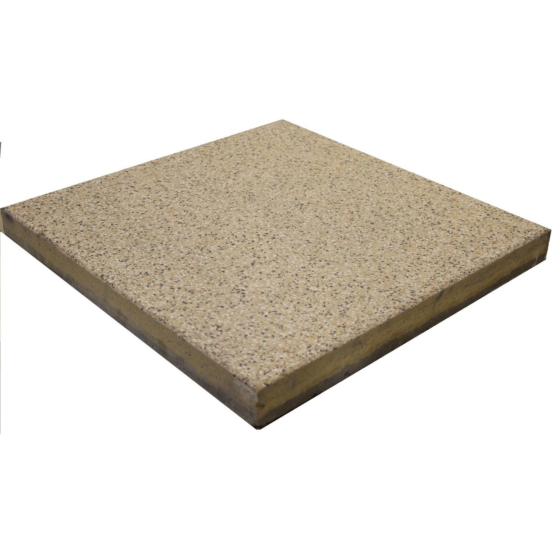 terrassenplatte beton rustic ockergelb gestrahlt 40 cm x 40 cm x 4 cm kaufen bei obi. Black Bedroom Furniture Sets. Home Design Ideas
