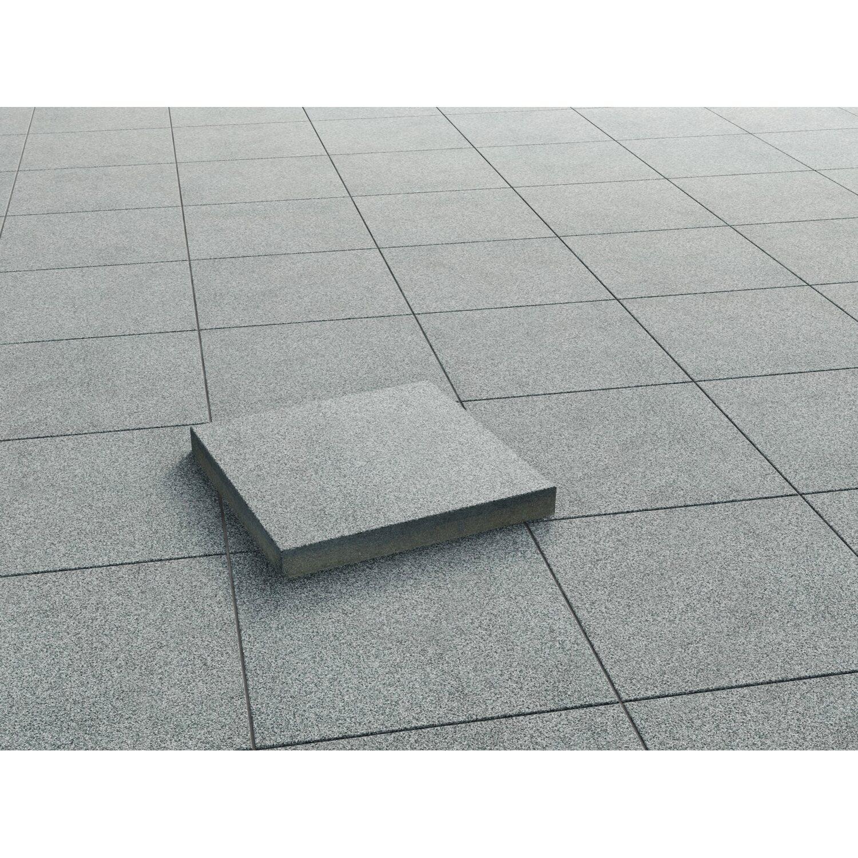 terrassenplatte beton anthrazit geschliffen 40 cm x 40 cm x 4 cm kaufen bei obi. Black Bedroom Furniture Sets. Home Design Ideas
