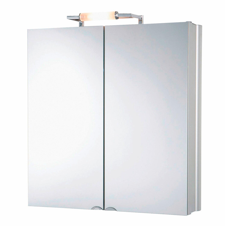 jokey spiegelschrank bel alu 65 cm alu eek d kaufen bei obi. Black Bedroom Furniture Sets. Home Design Ideas