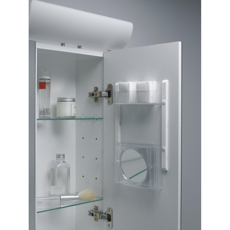 Jokey Spiegelschrank Tagona 80 cm Weiß-Alu EEK: A kaufen bei OBI