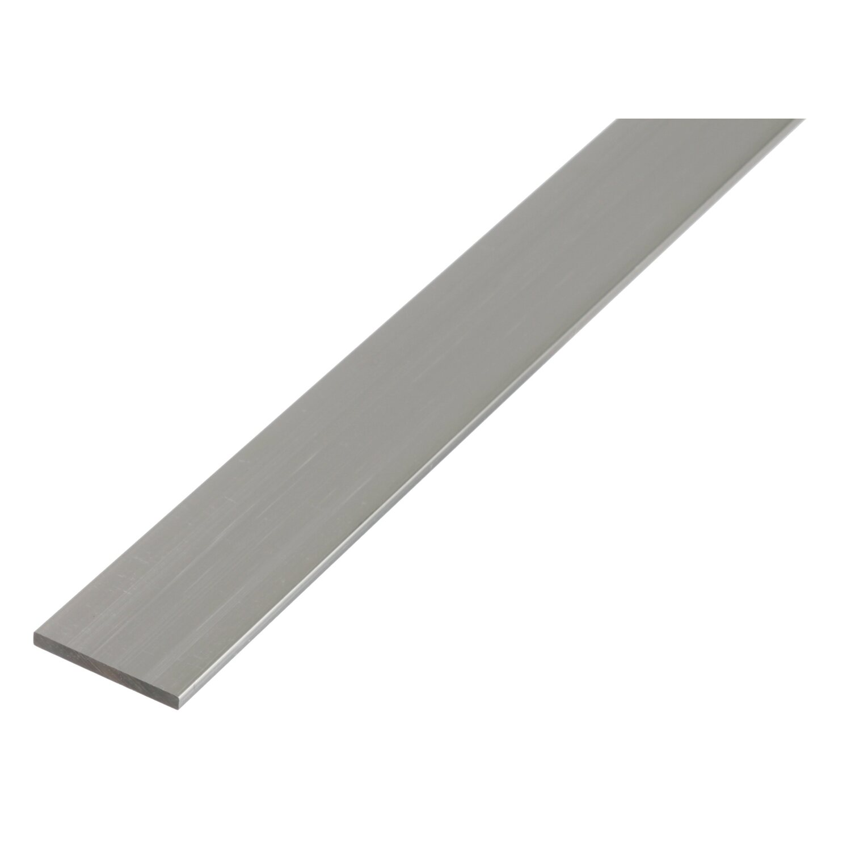 zum fräsen gestalten Messing Flachmaterial Modellbau Flach 50 x 10 bohren