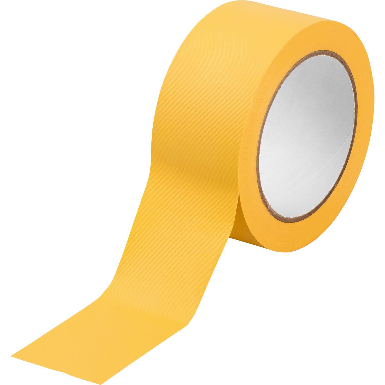 LUX Putzerband gerillt Gelb 33 m x 50 mm