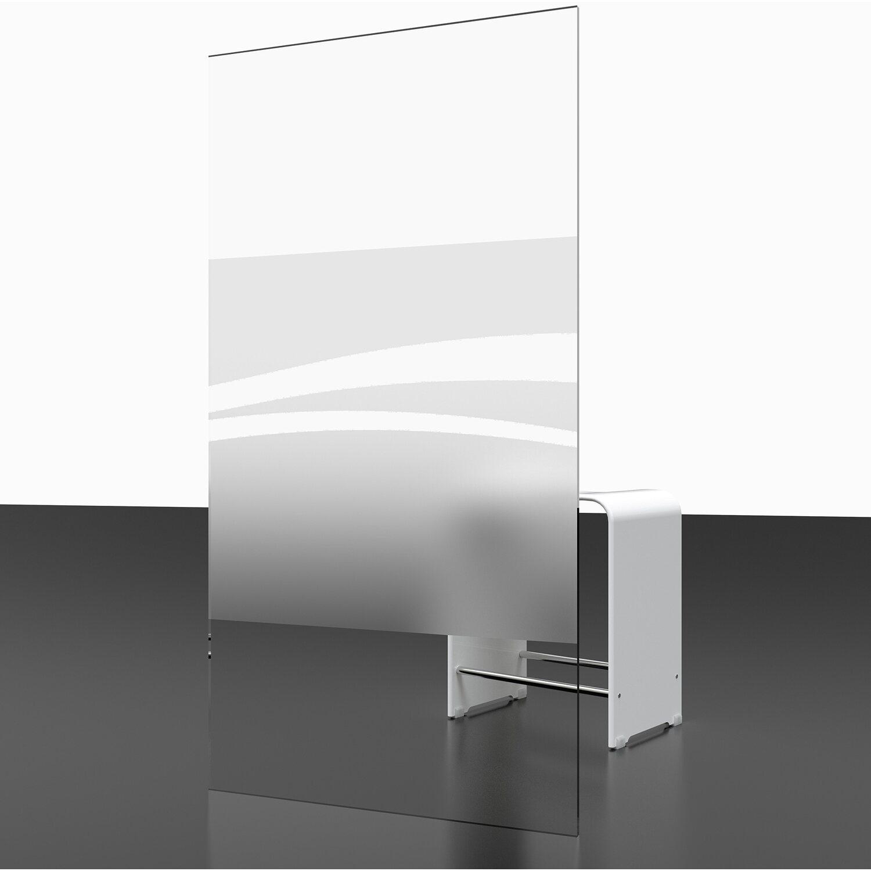 schulte badewannenaufsatz 2 teilig 112 cm x 140 cm dekor liane wei kaufen bei obi. Black Bedroom Furniture Sets. Home Design Ideas