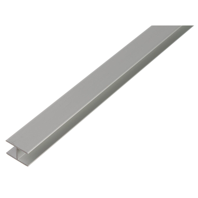 U-Profil selbstklemmend Silber eloxiert 22 mm x...