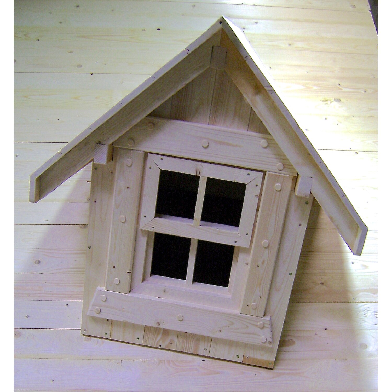 ausstattungs set gaube und fenster f r holz gartenhaus lieblingsplatz kaufen bei obi. Black Bedroom Furniture Sets. Home Design Ideas