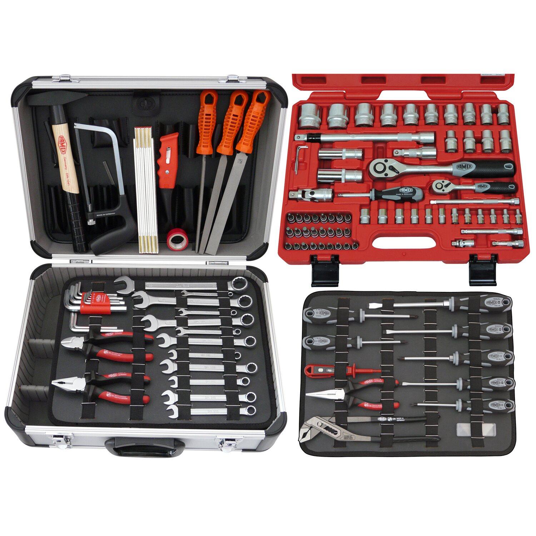 Famex  Werkzeugkoffer Universal 728-14 inkl. Steckschlüsselsatz