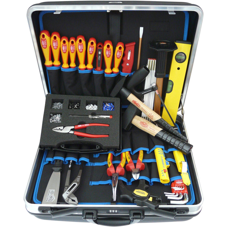 Famex Werkzeugkoffer Elektriker (636-10)