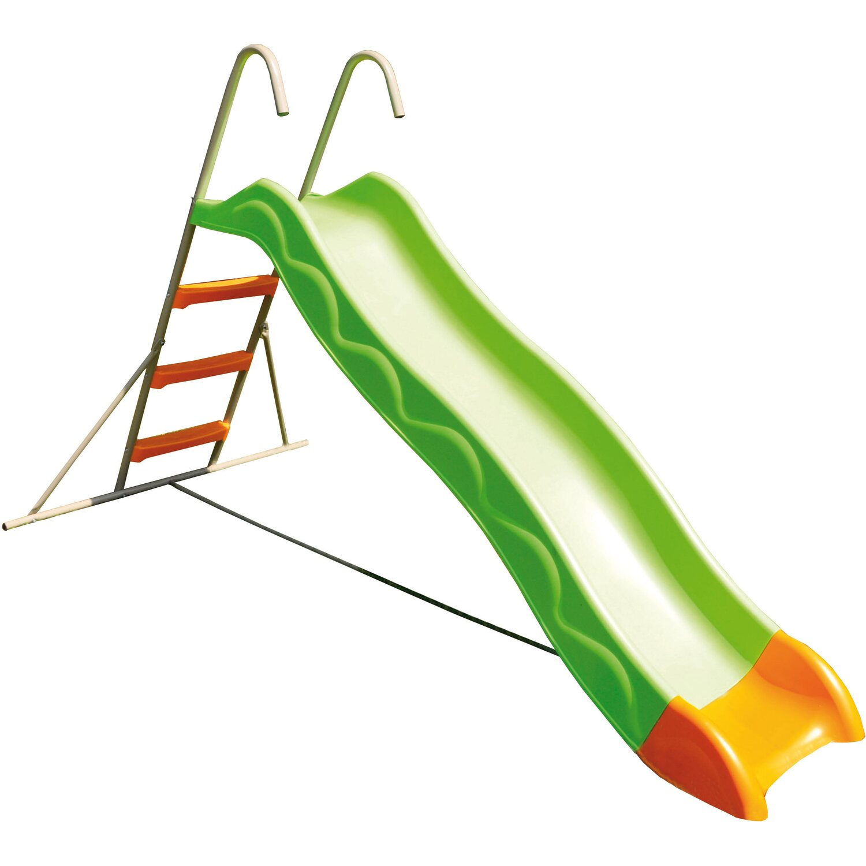 Trigano Rutsche 215 cm Grau-Grün mit Leiter