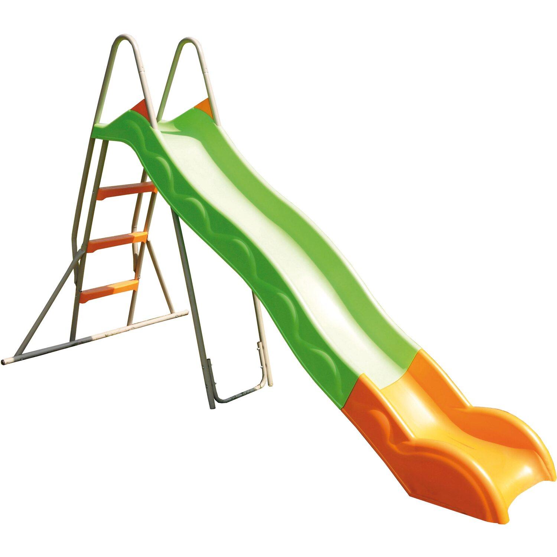 Trigano Rutsche 263 cm Grau-Grün mit Leiter