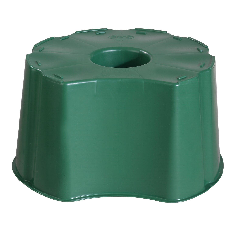 Garantia Unterstand für Regentonne rund 210 l oder eckig 203 l Grün