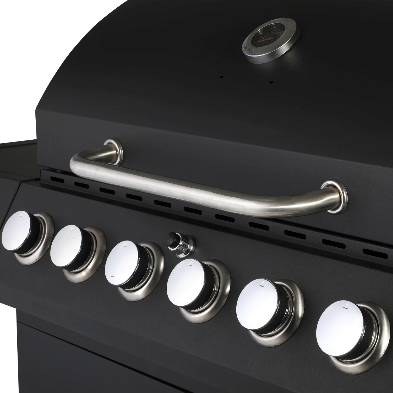 El Fuego® Gasgrill Sterling 6 + 1 Schwarz kaufen bei OBI