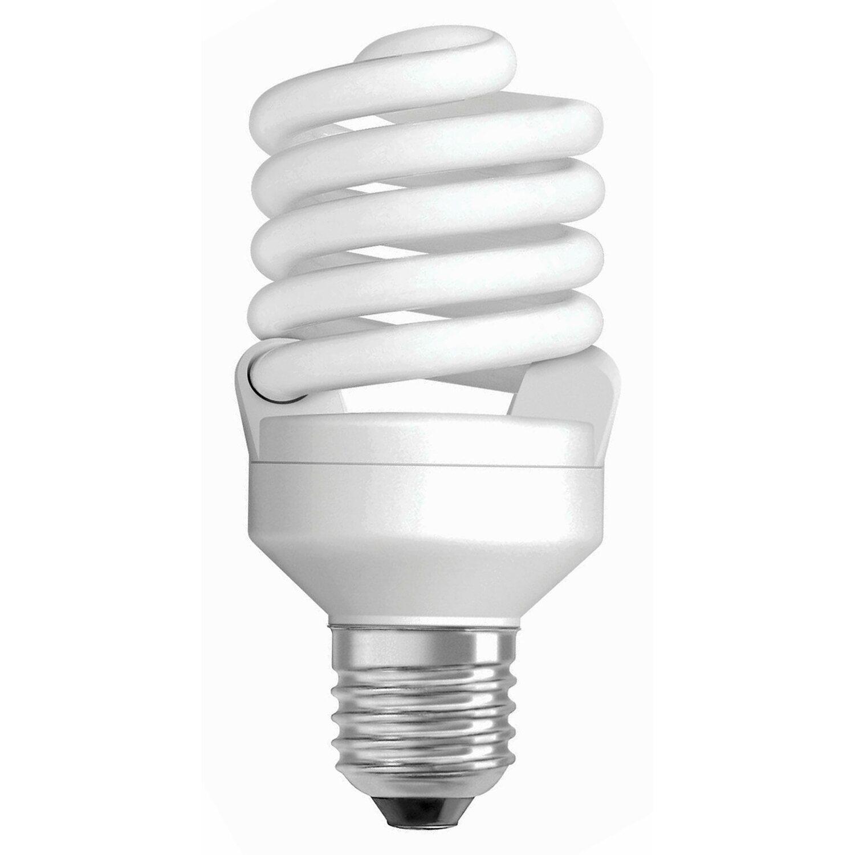 Osram Energiesparlampe Spiralform E27 / 21 W (1...