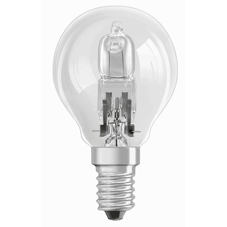 Osram E14 46W Tropfenlampe Halogen CLASSIC P
