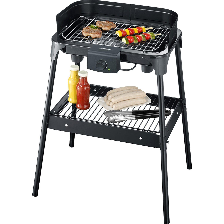 severin barbecue-elektrogrill pg 8532 mit untergestell 2.500 w