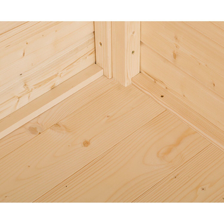 Weka Fußboden für Holzgerätehaus Easy B