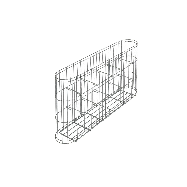 gabionen korb leonardo 60 cm x 10 cm x 30 cm kaufen bei obi. Black Bedroom Furniture Sets. Home Design Ideas