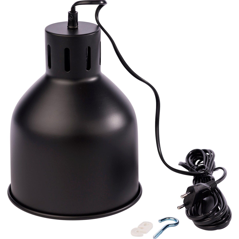 Venso E27 Lampenschirm SAGA Schwarz kaufen bei OBI