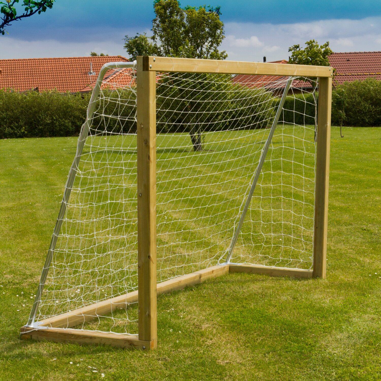 T J Manuel Fußballtor Mit Stahlbügeln Und Netz Kaufen Bei Obi