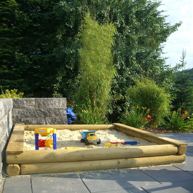 T & J Sandkasten Klaus 200 cm x 200 cm x 22 cm | Kinderzimmer > Spielzeuge > Sandkästen | Tetzner und Jentzsch