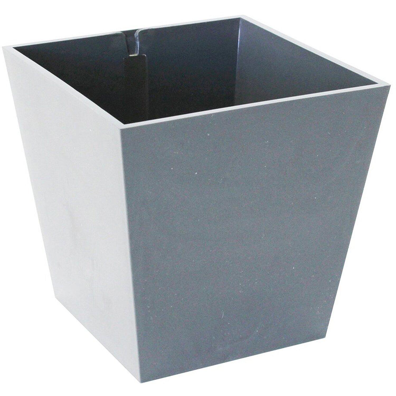 KalaMitica Kunststoffgefäß mit Magnet Pyramide 9 cm x 9 cm Hellgrau Preisvergleich