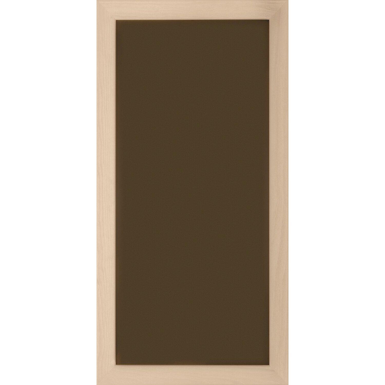 kalamitica metallplatte 23 cm x 50 cm braun mit holzrahmen. Black Bedroom Furniture Sets. Home Design Ideas