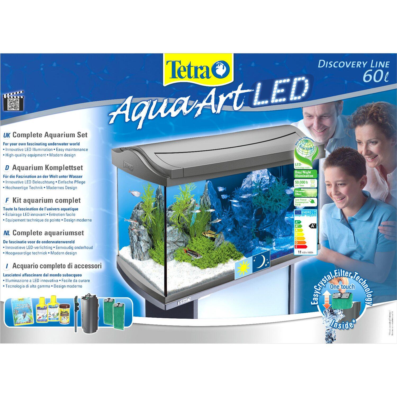 Tetra Aquarium-Set AquaArt Discovery Line LED 60 l Anthrazit kaufen ...