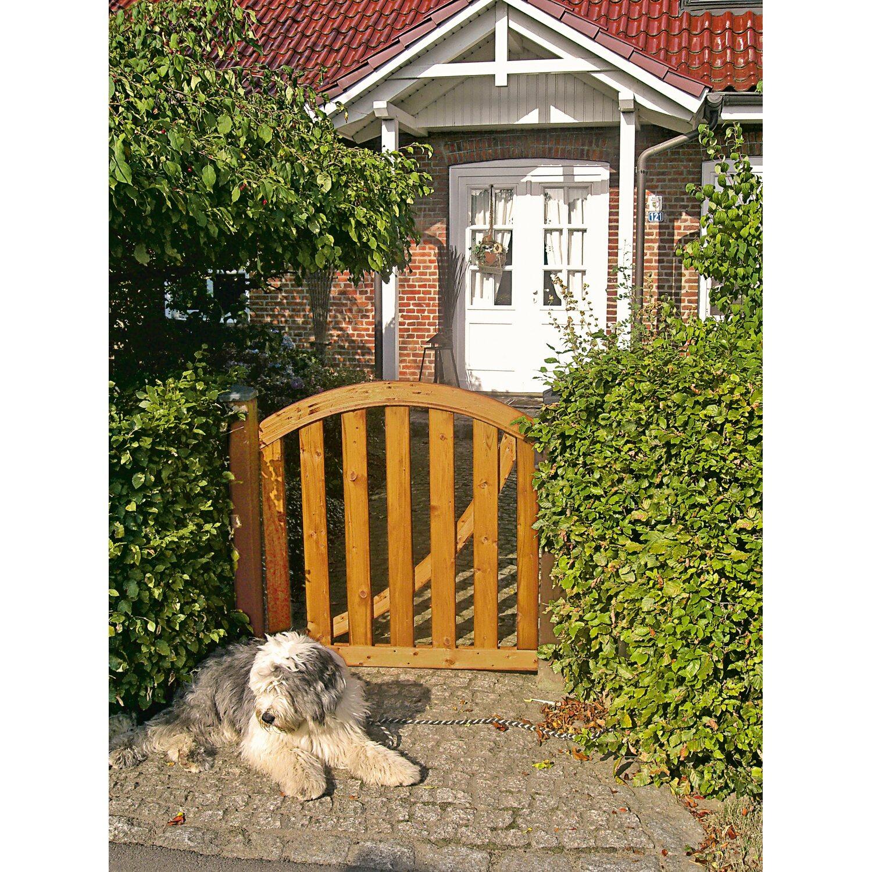 t & j gartenzaun-einzeltor bruno 100 cm x70/ 83 cm kaufen bei obi