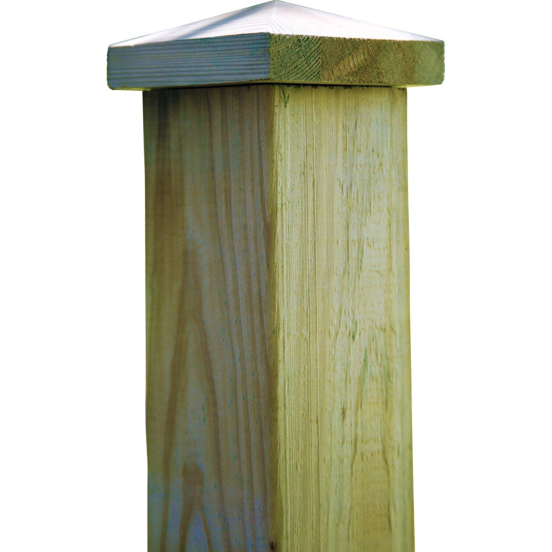 T J Pfosten Abdeckung Aus Holz 10x 10 Pyram