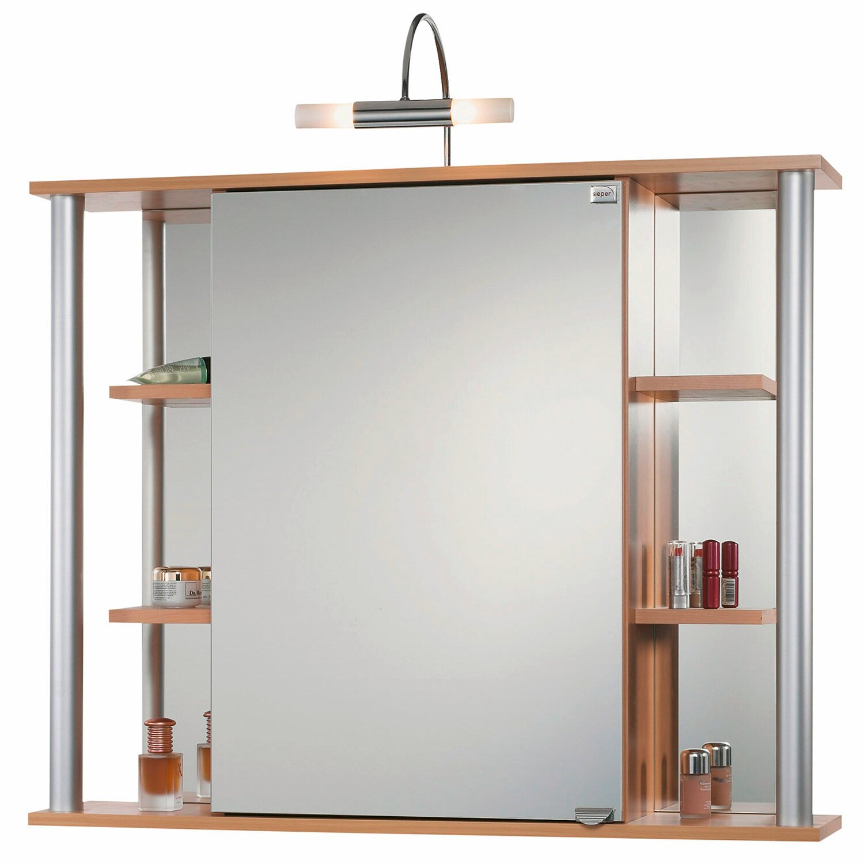 Sieper spiegelschrank biella 90 cm ahorn eek d kaufen bei obi - Spiegelschrank obi ...