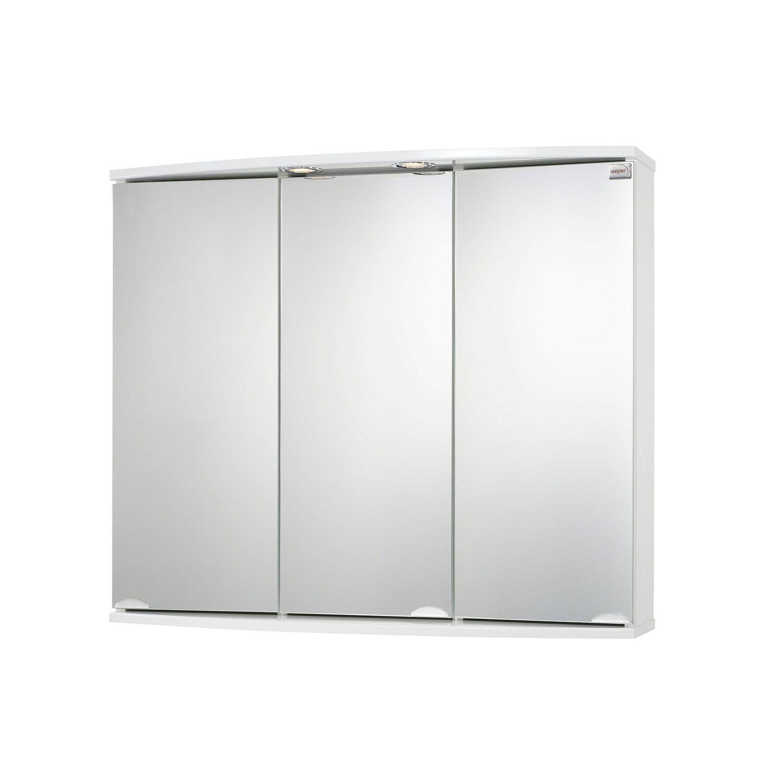 Sieper spiegelschrank modena 83 cm alu eek c kaufen bei obi - Spiegelschrank obi ...